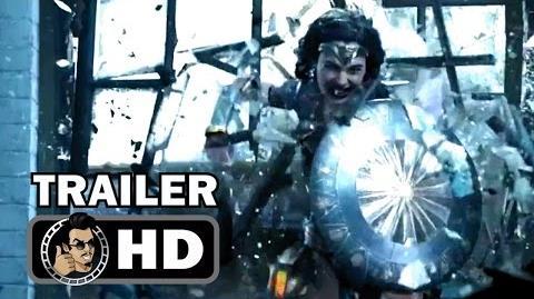 WONDER WOMAN - Official International Trailer 2 (2017) Gal Gadot Justice League Movie HD