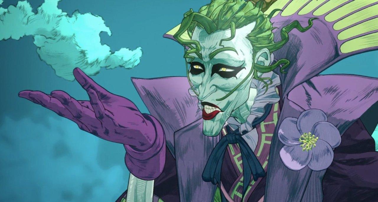 The Joker Batman Ninja Dc Movies Wiki Fandom