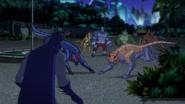 Batman up against the Animalitia BUAI 1