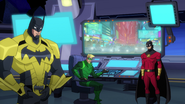 Green Arrow Red Robin Batman BMUAI 1