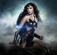 Wonder Woman Gal Gadot-poster