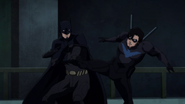 Nightwing vs Batman BMBB 1