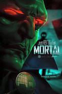 JL Mortal Martian Manhunter poster