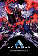 Aquaman Experience It In IMAX Poster 02