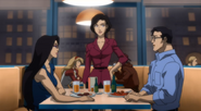 Justice League Throne of Atlantis - 4 Diane, Clark n Lois