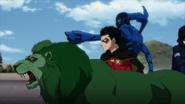 Blue Beetle Robin Beast Boy JLvsTT 1