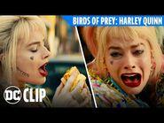 Harley Quinn Egg Sandwich Clip - Birds of Prey (2020) - DC