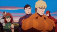 Aquaman & Mera & Cyborg & Superman JLTOA