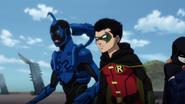 Blue Beetle Robin Raven JLvsTT