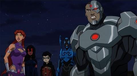 JUSTICE LEAGUE VS TEEN TITANS - Trailer 1 (2016) DC Animation Superhero Film HD