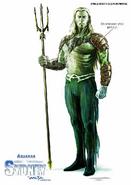 JL Mortal Aquaman Concept
