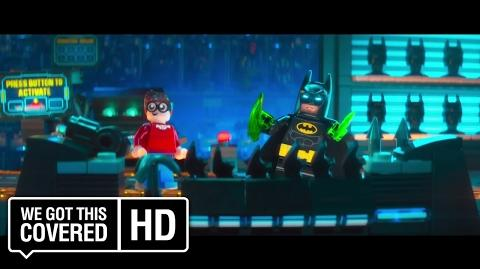 "The LEGO Batman Movie ""Reggae Man"" Clip HD Rosario Dawson, Zach Galifianakis, Will Arnett"