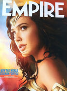 Wonder Woman Empire Magazine cover