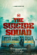 The Suicide Squad Truck Poster