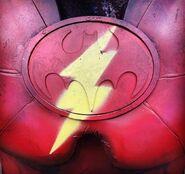 The Flash Batman Mashup logo