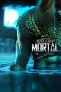 JL Mortal Aquaman poster