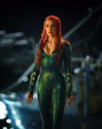 Aquaman Amber Heard BTS as Mera