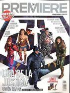 Cine Premiere Justice League cover