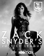 Wonder Woman Snyder Cut Character Poster