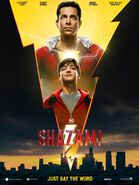 Shazam! Just Say the Word Poster