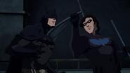 Nightwing vs Batman BMBB 3