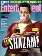 SHAZAM! EW Cover
