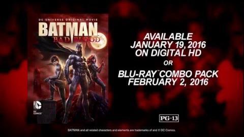 Batman Bad Blood - Clip