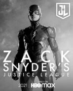 Flash Snyder Cut Character Poster