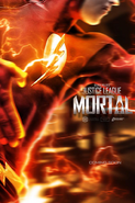 JL Mortal The Flash poster