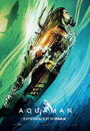Aquaman Experience It In IMAX Poster 01