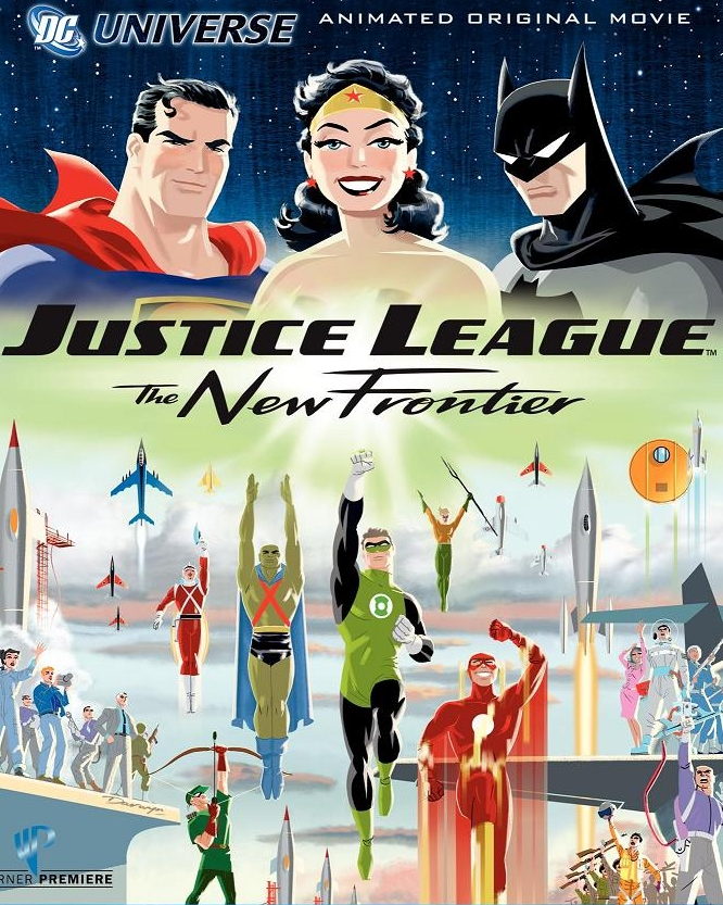 Justice League The New Frontier Dc Movies Wiki Fandom