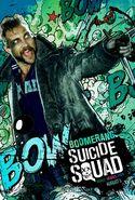 Suicide Squad Comic Poster Captain Boomerang