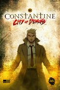 Constantine City of Demons (serial animowany) plakat promocyjny (2)