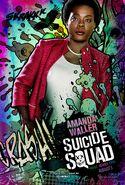 Suicide Squad Comic Poster Amanda Waller