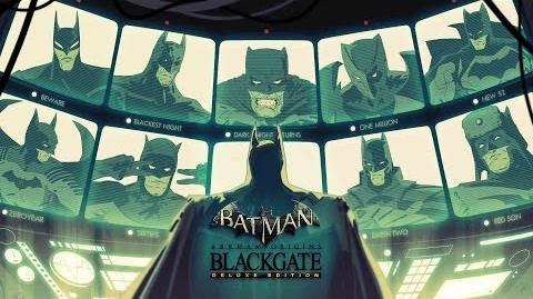 Batman Arkham Origins Blackgate - II oficjalny trailer