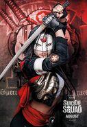 Suicide Squad Poster Katana