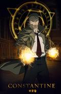 Constantine (serial animowany) plakat promocyjny