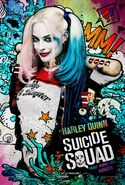 Suicide Squad Comic Poster Harley Quinn