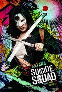 Suicide Squad Comic Poster Katana