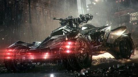 Batman Arkham Knight - Pokaz trybu bojowego Batmobila
