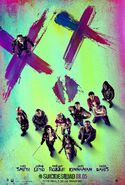 Suicide Squad Poster 1 (movie; 2016)