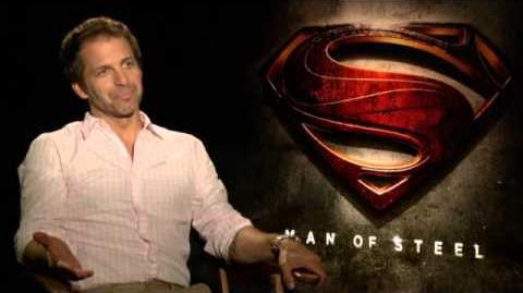 Człowiek ze stali - Wywiad Zack Snyder