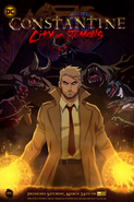 Constantine City of Demons (serial animowany) plakat promocyjny (1)