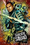 Suicide Squad Comic Poster Slipknot