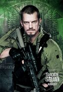 Suicide Squad Poster Rick Flag