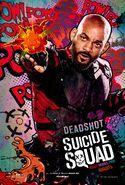 Suicide Squad Comic Poster Deadshot