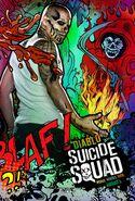 Suicide Squad Comic Poster El Diablo