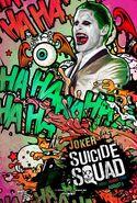 Suicide Squad Comic Poster Joker