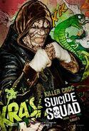 Suicide Squad Comic Poster Killer Croc