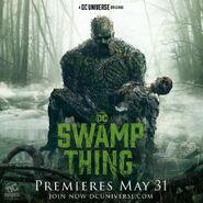 Swamp Thing Promo Poster